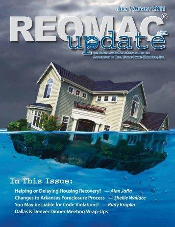 Mortgage Servicing - reomac