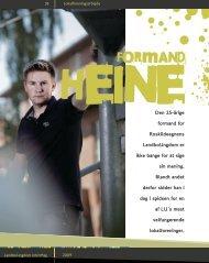 Heine, der er formand for Roskilde LandboUngdom