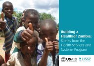 Read more about Abt's work in Zambia under HSSP. - Abt Associates