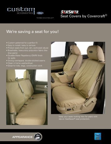 Seat Covers - Paul MacHenry & Company