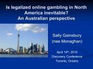 Is legalized online gambling in North America inevitable?