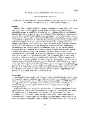 78 WP9 Instituto Nacional de Pesquisas da ... - CAR-SPAW-RAC