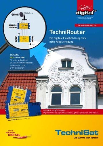 TechniRouter - EINKABEL