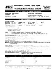 74130 - Chromate Industrial Corporation