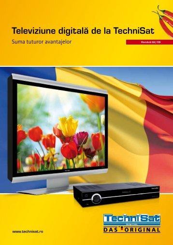 Televiziune digitală de la TechniSat