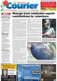 Te Awamutu Courier - April 5th, 2011  - Te Awamutu Online
