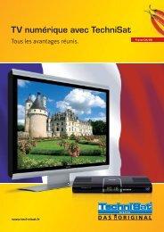 TV numérique avec TechniSat