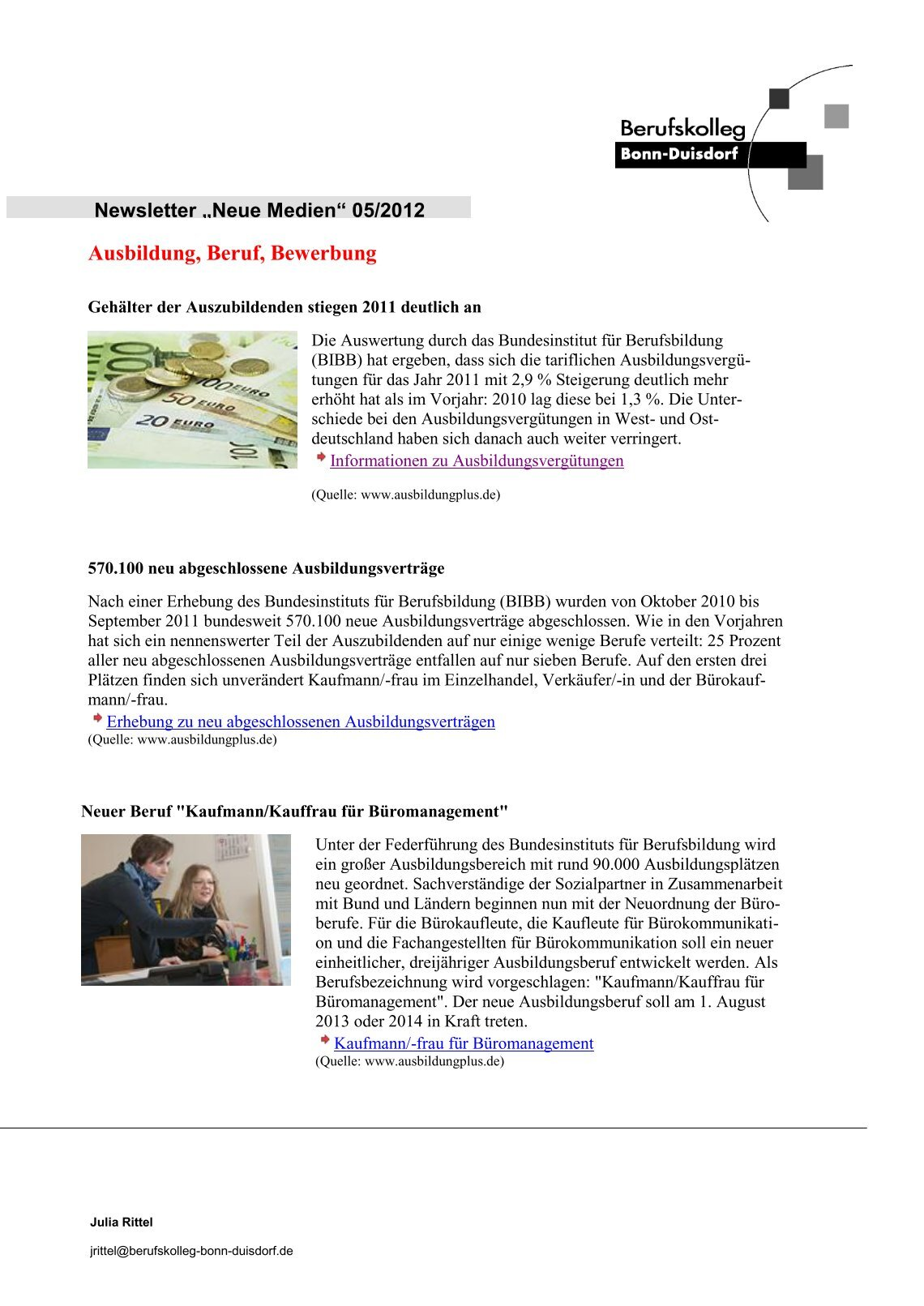 Berufskolleg Bonn Duisdorf 40 free magazines from berufskolleg bonn duisdorf de