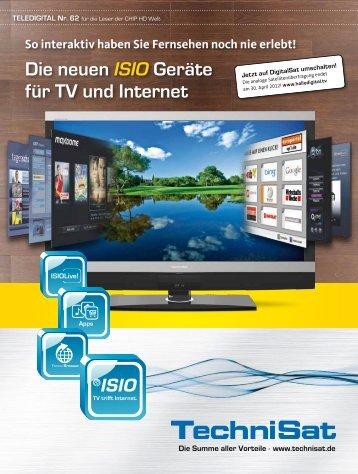 Die neuen ISIO Geräte für TV und Internet - Parallels Plesk Control ...