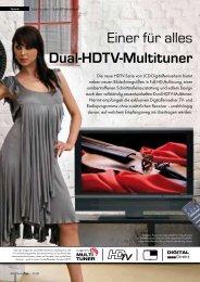 Einer für alles Dual-HDTV-Multituner
