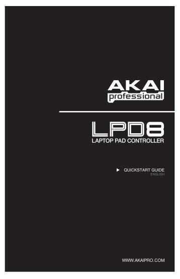 Akai LPD8 Quick Start