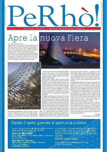 PeRhò! N.9 - marzo 2005 - Speciale Inaugurazione Fiera