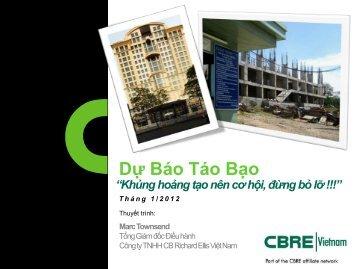 Dự Báo Táo Bạo 2012 - CBRE