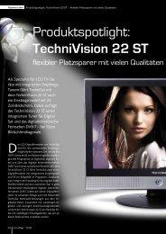 Produktspotlight: TechniVision 22 ST