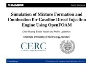 Simulation of Mixture Formation and Combustion for Gasoline Direct ...