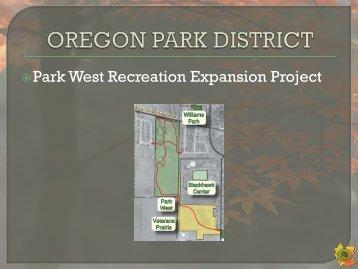 Here - Oregon Park District