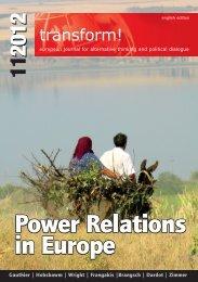 Power Relations in Europe Power Relations in Europe Power ...