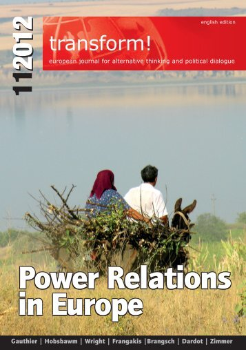 Power Relations in Europe Power Relations in Europe Power ...