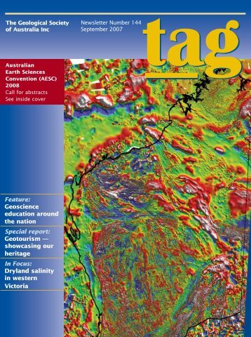 Geoscience education around the nation Special report - Geological ...