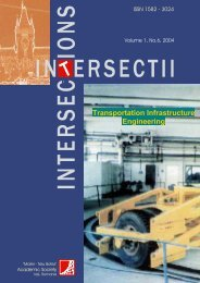 Transportation Infrastructure Engineering -