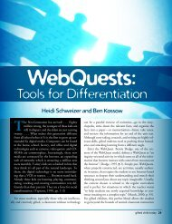 WebQuests - Tools for Differentiation.pdf