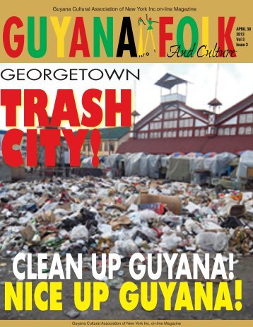 april 2013 on-line magazine - Guyanese Online