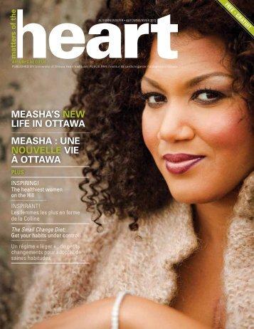une nouvelle vie à ottawa - University of Ottawa Heart Institute