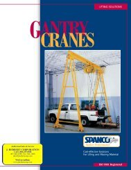 SPANCO Gantry Crane