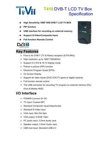 TeVii T900 DVB-T/ISDB-T Stick Drivers for Mac Download