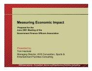 Measuring Economic Impact - HVS.com