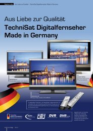 TechniSat Digitalfernseher Made in Germany