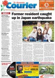Te Awamutu Courier - April 12th, 2011 - Te Awamutu Online