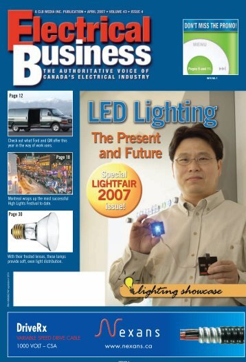 April 2007.pdf - Electrical Business Magazine