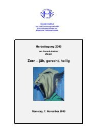 Programm HeTa09 - Szondi-Institut