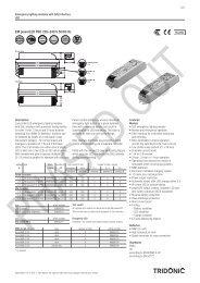 EM powerLED PRO 220–240 V 50/60 Hz - Tridonic