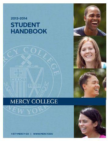 Student Handbook - Mercy College