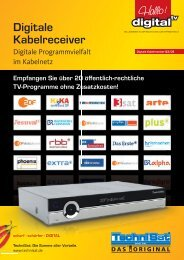 Digitale Kabelreceiver