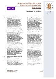Richtlijn nr. 30 NVOG - Stichting Anticonceptie Nederland