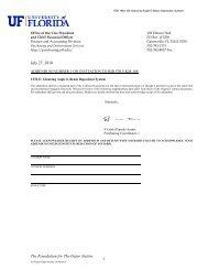 Addendum 1 - UF Purchasing