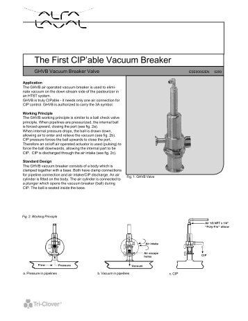 End Of Line And In Line Air Release Vacuum Breaker Valves