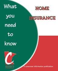 Home Insurance 6/00 - Minnesota.gov