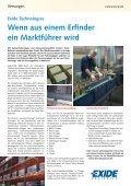 UNTERSTÃœTZEN VERSORGEN REZYKLIEREN - Technomag AG - Seite 6