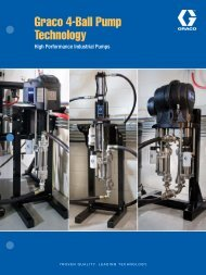 Graco 4-Ball Pump Technology - CH Reed Inc.