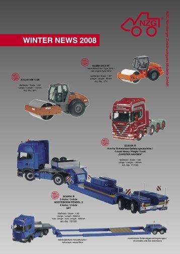 Winter Neuheiten 2008.indd - NZG