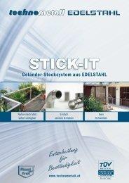 STICK-IT Folder NEU - technometall EDELSTAHL