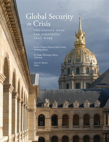 Global Security in Crisis - Center for Strategic Decision Research