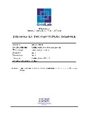Prototype of protlet framework - GridLab