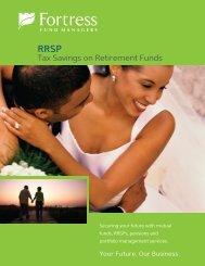RRSP - Fortress Mutual Fund Ltd