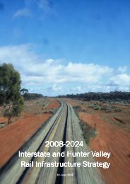 2024 Interstate and Hunter Valley Rail Infrastructure Strategy