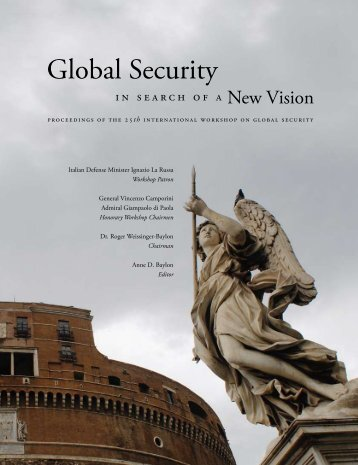 Global Security: in Search of a New Vision - Center for Strategic ...